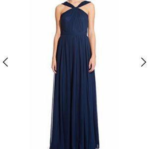 Wedding Way navy bridesmaid dress size 0